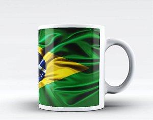 Caneca Bandeira do Brasil