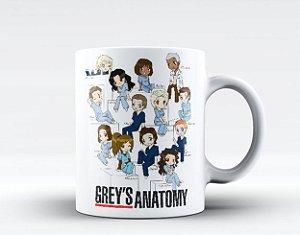 Caneca Grey's Anatomy