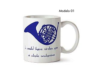 Caneca How I Met Your Mother: Trompa Azul