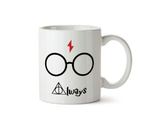 Caneca Harry Potter - Always