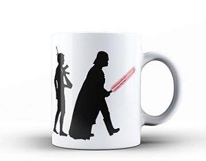 Caneca Evolução Star Wars Darth Vader