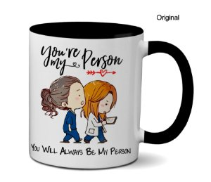 Caneca Grey's Anatomy You're My Person - Coloridas