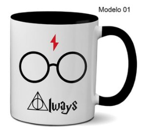 Caneca Harry Potter - Always / Expresso Patronum