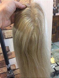 PROTESE capilar de topo feminina loiro