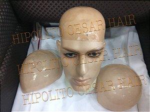 BASE SILICONADA PARCIAL para protese capilar
