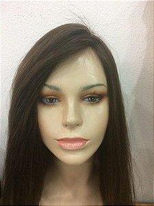 protese CAPILAR  topper wig cabelo longo 60 cm