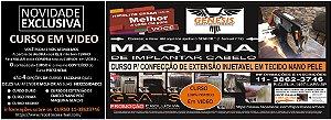 CURSO OURO COMPLETO COM A MÁQUINA DE INJETAR FIOS