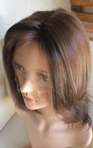 peruca front lace cabelo castanho claro cabelo humano virgem