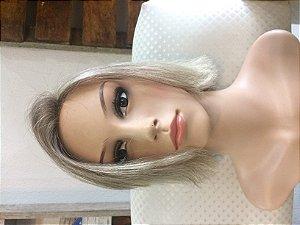 PROTESE CAPILAR feminina cabelo humano loiro