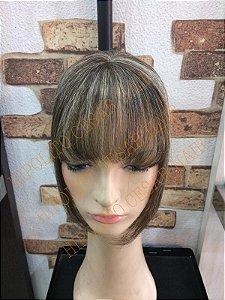 aplique de topo feminino cabelo com luzes