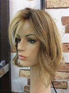 protese capilar feminina cabelo humano