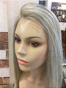 protese capilar feminina microepele cabelo loiro clarissimo