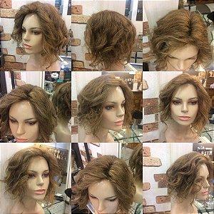 protese capilar de topo feminina topper wigs