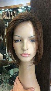 protese capilar silicone micropele feminina cabelo humano