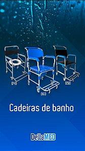 CADEIRA DE BANHO DELLAMED SEMI-OBESO