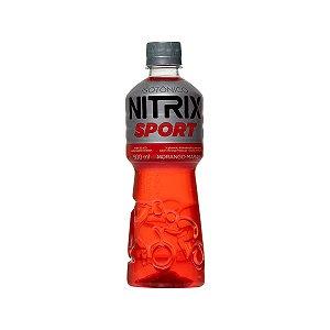 ISOTÔNICO NITRIX MORANGO - 500ML - FARDO COM 12 UNIDADES
