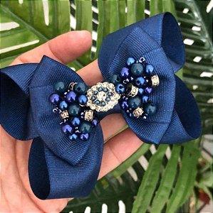Laço Boutique Azul Marinho - L5