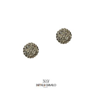Brinco Redondo Cinza - BF365CZ