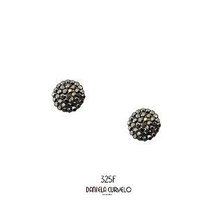 Brinco Redondo Hematite - BF325HT
