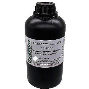 Hexametafosfato de Sódio PA 500 g Dinâmica