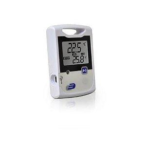 Termômetro alemão com Data Logger LOG10 temperatura interna -30+60ºC + Cabo USB Incoterm