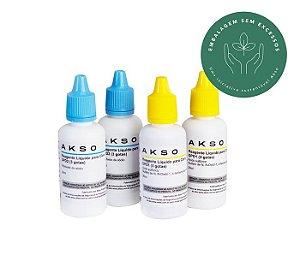 Reagente Liquido para Cloro Livre 300 testes Akso