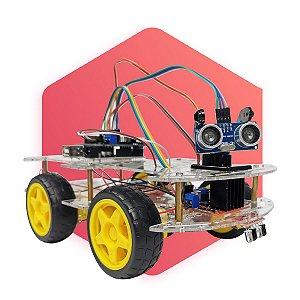 Robô Carrinho Inteligente com arduino Kit CTEAM