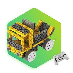 Kit Iniciante Robótica Carrinho Engenharia e Construção Com Controle