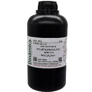 Polietilenoglicol 6000 PA 500G Dinamica