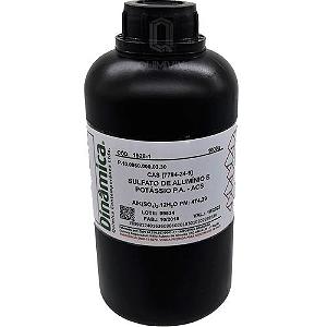 Sulfato de Alumínio e Potássio (12H2O) PA ACS 1kg Dinamica