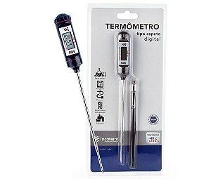Termômetro Digital tipo Espeto Inox Resistente A Água e Incoterm 6132