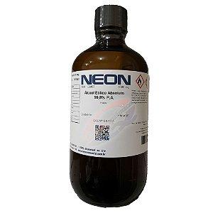 Alcool Etílico Absoluto 99,8% 1Litro Neon