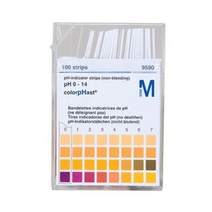 Papel indicador de Ph 0-14 cx c/100 tiras Merck