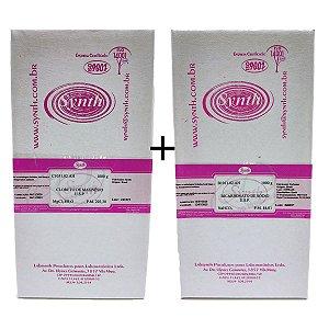 Cloreto de Magnésio USP e Bicarbonato de Sódio USP 1kg cada marca Synth