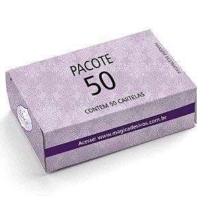 Adesivos de Unhas Para Revender Pacote Com 50 Cartelas