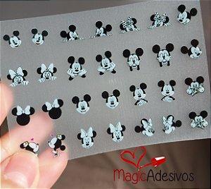 Cartelão 3D - MICKEY - 28 Adesivos