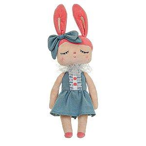 Boneca Angela Liz Azul 33cm - Metoo - BUP3075