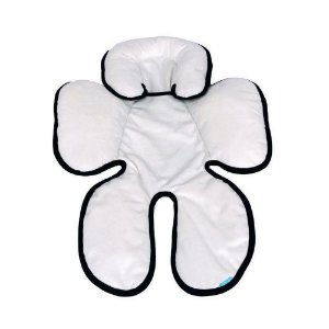 Almofada para Bebê Conforto Branco Preto Clingo - C2115