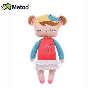 Boneca Angela Metoo Bailarina Vermelha 33cm - BUP2026