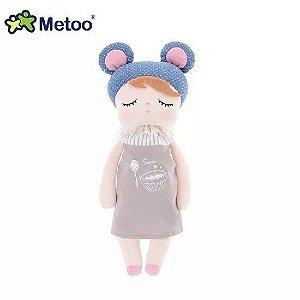 Boneca Angela Metoo Doceira Retro Bear Azul 33cm - BUP2010