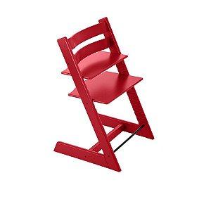 Cadeira de Crescimento Tripp Trapp Vermelha