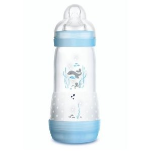 Mamadeira First Bottle / Easy Start Autoesterilizável MAM 320ml - Azul - 4677BA