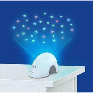 Luminaria para Quarto Bebê Elefante com Projetos e Sons Clingo - C2401