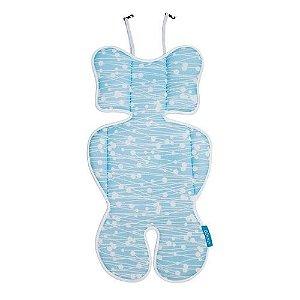 Almofada para Bebê Conforto Azul Clingo - C2117