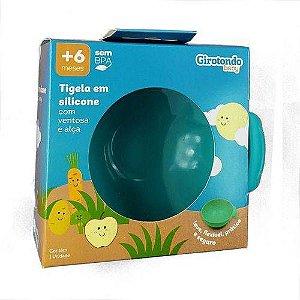 Tigela Com Ventosa e Alça De Silicone - DR021