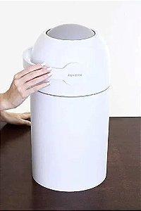 Lixeira Mágica Anti-Odor Branco Kababy - 11200B