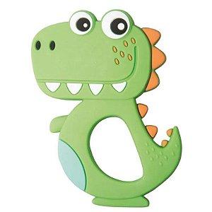 Mordedor Silicone Dino  Verde Girotondo Baby - LP7302