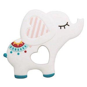 Mordedor Silicone Elefante Girotondo Baby - LP7207