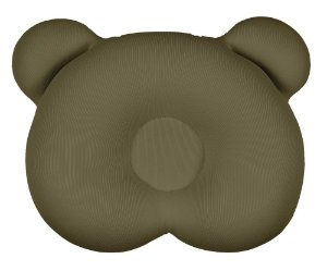 Almofada Ergonômica Para Cabeça Urso Marrom Babypil - AE003