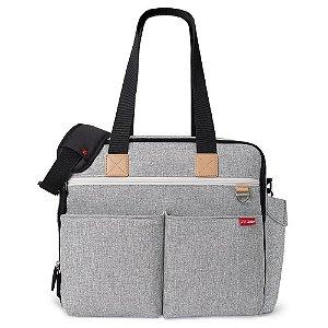 Bolsa Maternidade (Diaper Bag) Duo Weekender Grey Melange- Skip Hop - 201400
